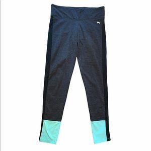 PINK | Mint Black & Grey Yoga Leggings